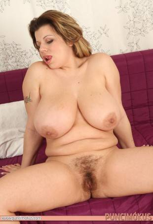 Pale Brunette With Hairy Pussy + Perfect Tits justporno.tv